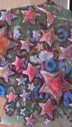 Some stars.  Feel free to use them in your art work if you like them :)