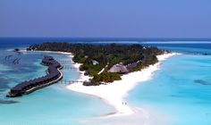 Kuredu Island at the Maldives is absolutely gorgeous! You need to see it once! Honeymoon place number 1!