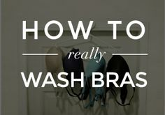 How to Wash Bras: 5 Tips Every Woman Should Know