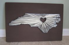 north carolina state string art - Google Search