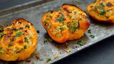 Vegan Cauliflower Rice Stuffed Bell Peppers - 3 Vegan Low Carb / Keto Recipes - Rich Bitch Cooking Blog