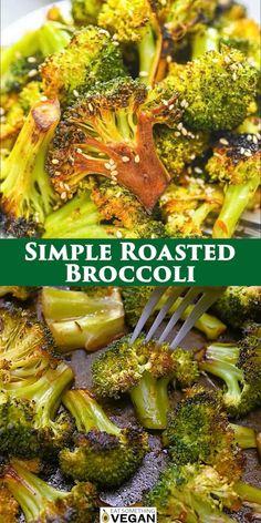 Mexican Food Recipes, Vegetarian Recipes, Cooking Recipes, Vegetarian Side Dishes, Vegetable Dishes, Broccoli Side Dishes, Asian Broccoli, Amazing Food Videos, Easy Healthy Recipes