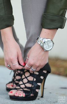 Falling for Fall | Lace-ups