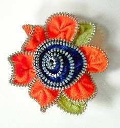 Zippered Brooches