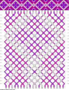 Muster # 64484, Streicher: 20 Zeilen: 24 Farben: 4