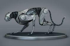 Cheetah Robot | Lucas Pigliacampo
