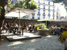 Best terrace in town! Café A in #paris, #MO15 & #PDW15