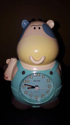 Vintage Rhythm Japan Cow Alarm Clock No. Talking Alarm Clock, Alarm Clocks, Rhythm Clocks, Cow, Japan, Ebay, Vintage, Alarm Clock, Cattle