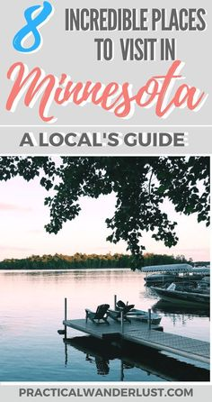Minnesota is a USA travel destination that's packed with amazing places to visit, things to do, and delicious food to eat! Here's the 8 best places to visit in Minnesota according to a local. Don't skip visiting Minnesota on your next United States vacati #TravelDestinationsUsaAmerica #TravelDestinationsUsaFood