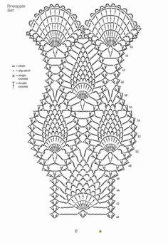Hand Crocheted Dress by Rosetta Getty - Daliute -