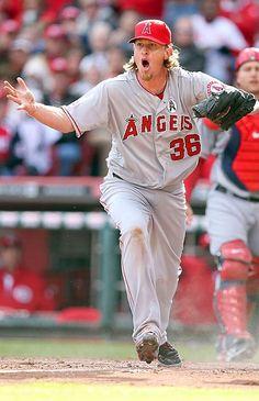 Jered Weaver, Anaheim Angels- Passion!