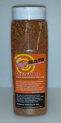 Dizzy Pig BBQ Dizzy Dust Coarse Rub Spice- Quart Size