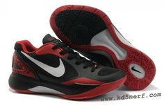 2bbbb63e5289 2011 Nike Zoom Hyperdunk Low Shoes Black White Red Nike Kd Shoes
