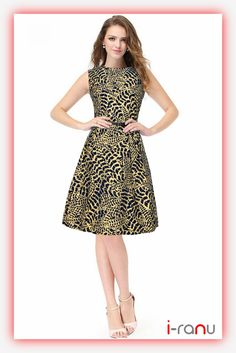 Buy Stylish Crepe, Georgette One-Piece Westernwear For Girls Online In India At Best Price With Hassle Free Returns And Free Delivery. Buy Western Dresses Under Western Dresses, Western Wear, Sheath Dresses, Girl Online, Tiger Print, Dresses For Work, One Piece, Printed, Yellow