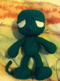 Amumu amigurumi. Character from the online game League of Legends <3
