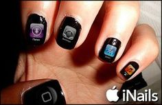 Apple to Release iNails – Smart Nail Polish
