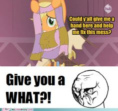 "What's this ""hand"" you speak of, AJ? OH MY CELESTIA!!!!!!!"