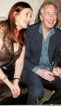 Alan Rickman & His Younger Sister, Sheila