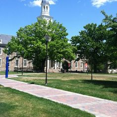 Morgan State University academic yard. Where my folks got together, and where I learned to ride a bike.
