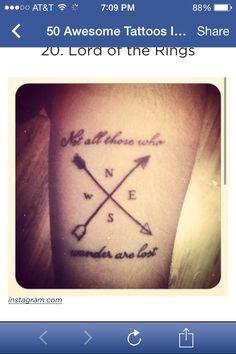 LOTR tattoo ❤️