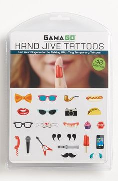 Temporary Finger Tattoos available at #Nordstrom
