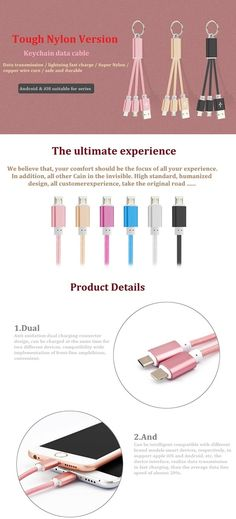 2 In 1 Nylon fast Data Cable Charger Micro USB Keyring Snyc Cabo For iPhone 5 5s 6 6s Plus Samsung Huawei Xiaomi sky Animuss Company Limited www.animuss.net email: sky@animuss.net skype: animuss. animuss mobile/whatapp: + 86-18033097183 Mp4 Player, Charging Cable, Cabo, 6s Plus, Charger, Samsung, Sky, Iphone, Heaven