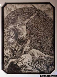 Aztec Drawing - BrownPride.com Photo Gallery (BP)
