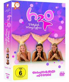 H2O Complete Season 3 Just Add Water New DVD Box Set Region 2