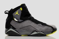 2014 michaEL Jordan Basketball Shoes for Men | Air Jordan Men's True Flight Basketball Shoe Black Lime Silver