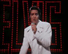 """Elvis-""""If I Can Dream""""- Comeback Special - 1968; via Tori♥"""