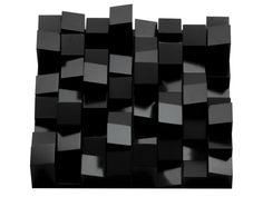 Gloss black diffuser panels