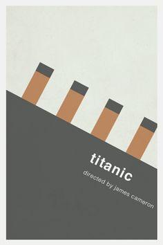 Titanic - Minimalist Poster