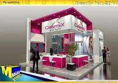 Cosmix - Beauty Fair 2014 Beauty Fair, Exhibition Stall Design, Stalls, Exhibitions, Home Decor, Decoration Home, Room Decor, Trade Show Booth Design, Exhibition Stand Design