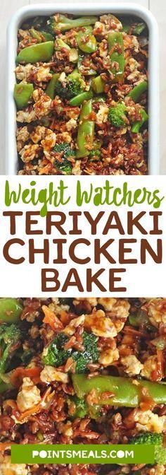 #weight_watchers Teriyaki Chicken Bake #chicken #dinner