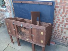 Recycled Pallet Rabb