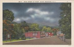 Black Mountain North Carolina Vintage by PicturesFromThePast