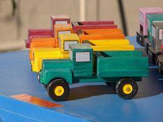 jucării din lemn mea: În cele din urmă planul camionului