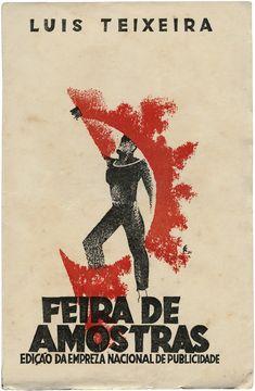 Feira de Amostras, Luís Teixeira, Empreza Nacional de Publicidade, design Fred Kradolfer, 1931