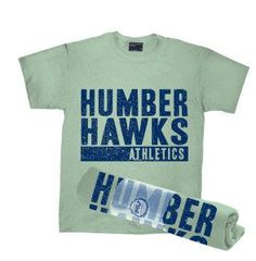 A great way to 'throw' your name out there. Rolled t-shirts easily thrown for giveaways!