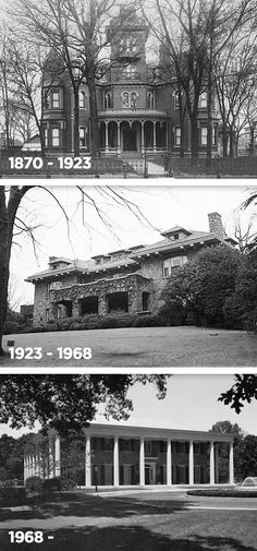 Past and present GA Governor's Mansions in ATL.