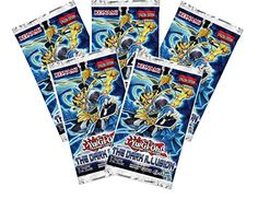 Collectible Trading Card Booster Packs - Yugioh 5x The Dark Illusion Booster Packs 9 cards Per Pack ** To view further for this item, visit the image link.