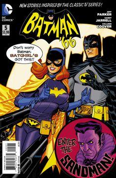 Batman '66 #5 - 1st Appearance of Batgirl / Alternate Cover.