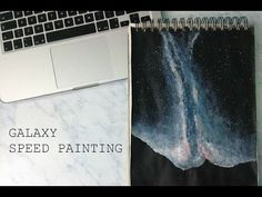 GALAXY SPEED PAINTING ✖ #galaxy #speed #paint #art #design #star #stars #room…