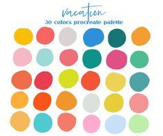 Colour Pallette, Color Palate, Colour Schemes, Color Combos, Bright Color Palettes, Tropical Colors, Design Seeds, Happy Colors, Color Swatches