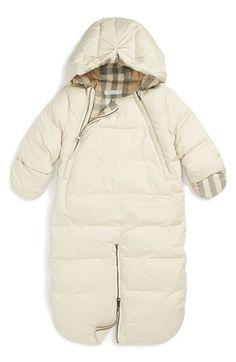 Nouveau-né bébé garçon fille hiver combinaison de ski fourrure à capuche pour bébé costume avec mitaines 0-6m uk