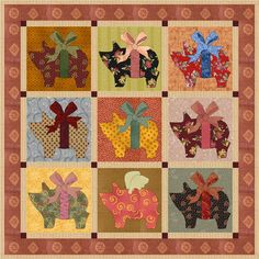 When Pigs Fly by ajpadilla | Quilting Pattern - Looking for your next project? You're going to love When Pigs Fly by designer ajpadilla. - via @Craftsy