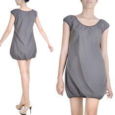 Farb- und Stilberatung mit www.farben-reich.com - Kurzes Kleid lange Tunika Baumwolle von beauty fashion auf DaWanda.com