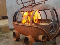 Bulli t1 Feuerschale | Gemischtes Allerlei | Pinterest