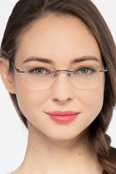 Gentle Blue offer amazingly stylish computer glasses that protect your eyes against blue light Glasses For Round Faces, Glasses Frames Trendy, Silhouette Eyewear, Silhouette Glasses, Cheap Eyeglasses, Eyeglasses For Women, Eyeglass Frames For Men, Rimless Glasses, Beauty