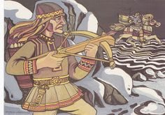 Portal dos Mitos: Kalevala, A Epopéia Nacional Finlandesa Portal, Pagan, Mythology, Religion, Princess Zelda, Fantasy, Fictional Characters, Visual Arts, Nature